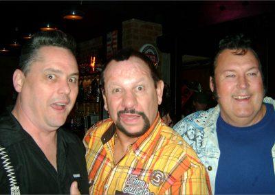 Skeets, Bushwacker Luke and The Honkey Tonk Man at the WWF alumni gala