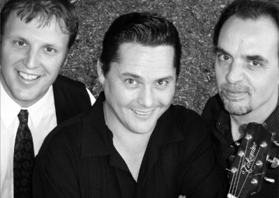 Go Freddie Go is also known as The Mackenzie Kings when we made a CD a few years ago, that covered songs in the Mills brothers style.