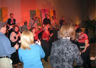 Nestle sales reps across Canada dancing to the band - Feb 10, 2008
